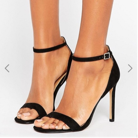 6eda0692063 ASOS Shoes - Gorgeous ASOS barely there black heels. Size 6